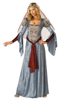 Women's Maid Marian Costume - Adult L (12 - 14)