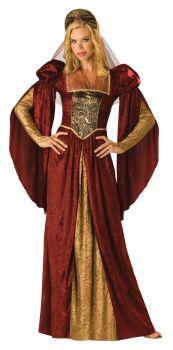 Women's Renaissance Maiden Costume - Adult L (12 - 14)