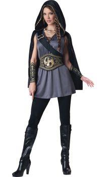 Women's Huntress Costume - Adult S (4 - 6)