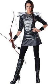Women's Midnight Huntress Costume - Adult XL (16 - 18)