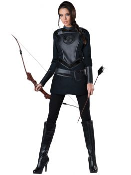 Women's Warrior Huntress Costume - Adult S (4 - 6)