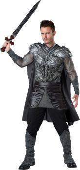 Men's Dark Medieval Knight Costume - Adult M (38 - 40)