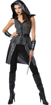Women's Dark Woods Huntress Costume - Adult XL (16 - 18)