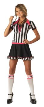 Racy Referee 2B Costume - Teen M (5 - 7)