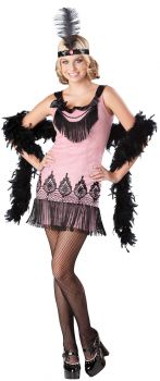 Flirty Flapper Costume - Teen L (9 - 11)