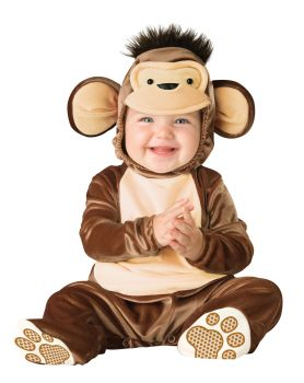 Mischievous Monkey Costume - Toddler (12 - 18M)