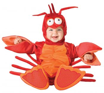 Lil Lobster Costume - Toddler (12 - 18M)