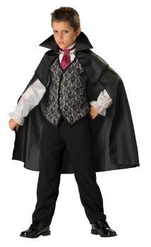 Boy's Midnight Vampire 2B Costume - Child L (10)