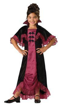 Girl's Midnight Vampiress 2B Costume - Child L (10)