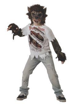 Boy's Werewolf Costume - Child M (8)