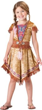 Girl's Indian Maiden 2B Costume - Child L (10)