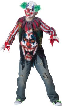 Boy's Big Top Terror Costume - Child L (12)