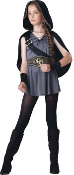 Hooded Huntress Costume - Tween S (8 - 10)