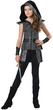 Dark Woods Huntress Costume - Tween S (8 - 10)