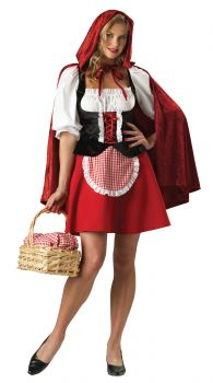 Women's Red Riding Hood Costume - Adult L (12 - 14)
