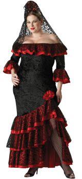Women's Plus Size Senorita Costume - Adult 2X (20 - 22)