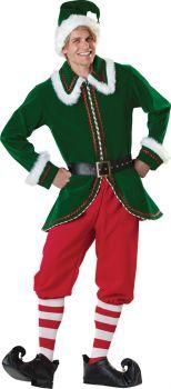 Men's Santa's Elf Costume - Adult M (38 - 40)