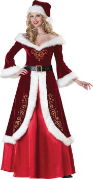 Women's Mrs. St. Nick Costume - Adult S (4 - 6)