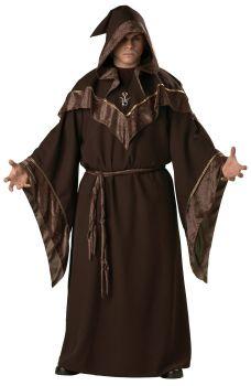 Men's Plus Size Mystic Sorcerer Costume - Adult 2X (50 - 52)