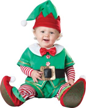 Santa's Lil Elf Costume - Infant (6 - 12M)