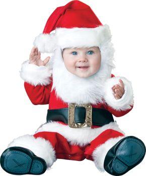 Santa Baby Costume - Infant (6 - 12M)