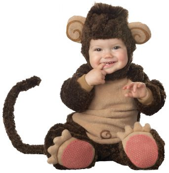 Lil Monkey Costume - Infant (6 - 12M)