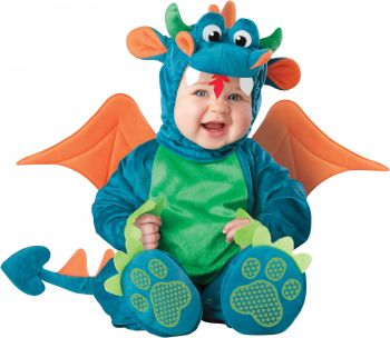 Dinky Dragon Costume - Toddler (18 - 24M)