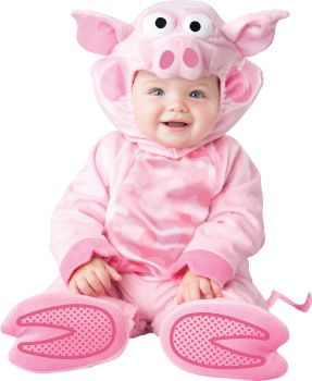 Precious Piggy Costume - Infant (6 - 12M)