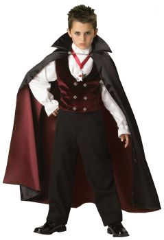 Boy's Gothic Vampire Costume - Child M (8)