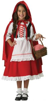 Girl's Little Red Riding Hood Costume - Child M (8)
