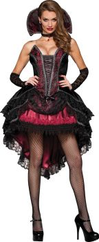 Women's Vampire's Vixen Costume - Adult XS (0 - 2)