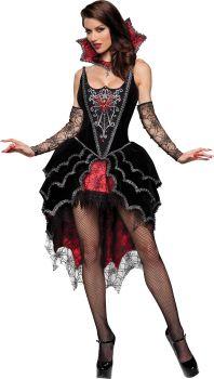 Women's Webbed Mistress Costume - Adult L (12 - 14)