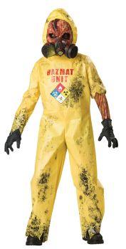 Boy's Hazmat Hazard Costume - Child S (6)