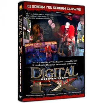 Ice Scream You Scream Clowns DVD