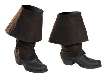 Jack Sparrow Boot Covers Adult