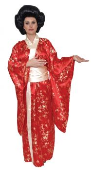 Women's Kimono Costume - Adult OSFM