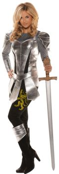 Women's A Knight To Remember Costume - Adult Small