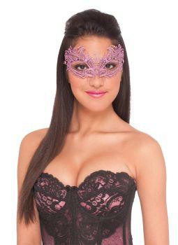 Lace Mask Pink