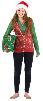 Ladies Ugly Christmas Vest Xl