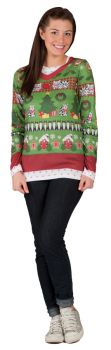 Ladies Ugly Christmas Xl