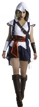 Women's Connor Costume - Assassin's Creed - Adult Small