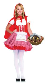 Teen Lil Miss Red Costume - Teen S/M