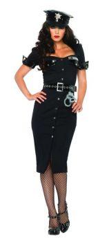 Women's Lieutenant Lockdown Costume - Adult X-Large