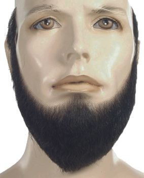 Full-Face HX4 Beard - Human Hair - Medium Brown