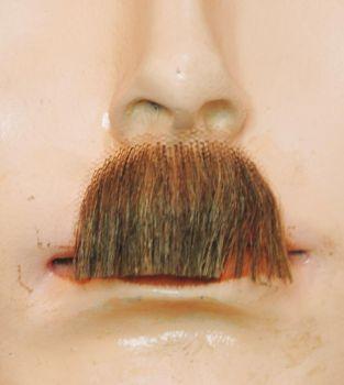 Chaplin Mustache EM21 - Synthetic - Light Brown