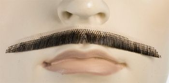 Errol Flynn Mustache - Human Hair - Light Brown