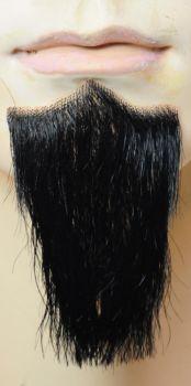 1-Point Beard - Synthetic - Black