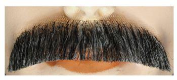 Downturn M2 Mustache - Blend - Dark Brown 75% Gray