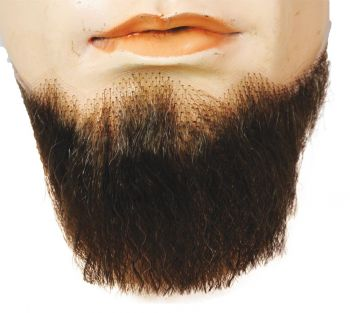 5-Point Beard - Synthetic - Light Chestnut Brown 25%