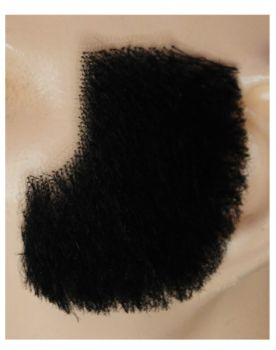 Muttonchops M22 - Human Hair - Black